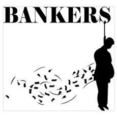 Hang the Bankers Framed Print