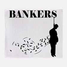 Hang the Bankers Throw Blanket
