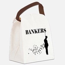 Hang the Bankers Canvas Lunch Bag