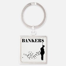 Hang the Bankers Square Keychain