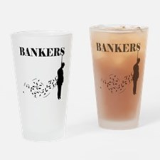 Hang the Bankers Drinking Glass
