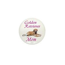 Golden Retriever Mom Mini Button (100 pack)