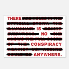 No conspiracy anywhere Postcards (Package of 8)