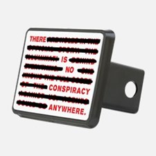 No conspiracy anywhere Hitch Cover