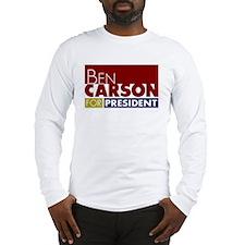 Ben Carson for President V1 Long Sleeve T-Shirt
