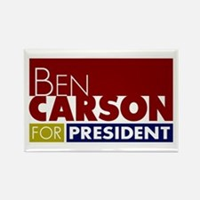 Ben Carson for President V1 Rectangle Magnet