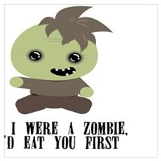 Lil Zombie Poster