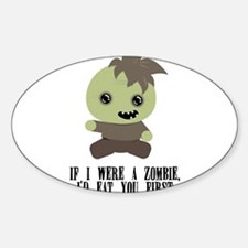 Lil Zombie Decal