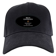 Ben Carson for President USA Baseball Hat
