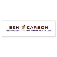 Ben Carson for President USA Bumper Bumper Sticker