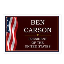 Ben Carson for President Postcards (Package of 8)