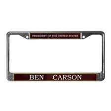 Ben Carson for President V3 License Plate Frame