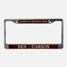 Ben Carson for President V3 License Plate Frame