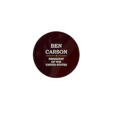 Ben Carson for President V3 Mini Button (10 pack)