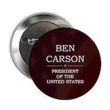 """Ben Carson for President V3 2.25"""" Button"""