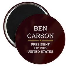 Ben Carson for President V3 Magnet