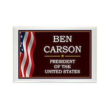Ben Carson for President V3 Rectangle Magnet