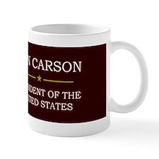 Ben Carson for President V3 Small Mug