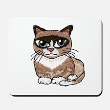 Snowshoe Cat Lover Mousepad