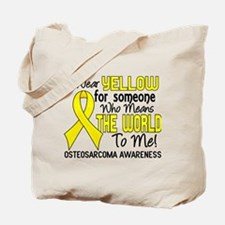 Osteosarcoma MeansWorldToMe2 Tote Bag