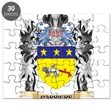 Carriere Coat of Arms - Family Crest Puzzle