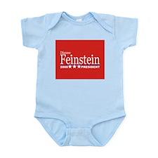 DIANNE FEINSTEIN PRESIDENT 2008 Infant Creeper