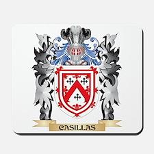 Casillas Coat of Arms - Family Crest Mousepad