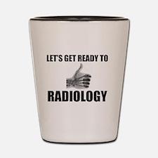 Cute Radiology Shot Glass