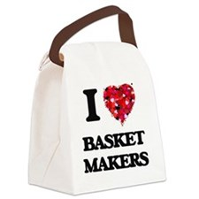 I love Basket Makers Canvas Lunch Bag