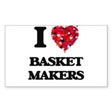 I love Basket Makers Decal