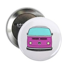 "Unique Camper van 2.25"" Button"