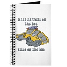 What Happens On The Bus Stays On The Bus Journal