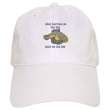 What Happens On The Bus Stays On The Bus Baseball Cap