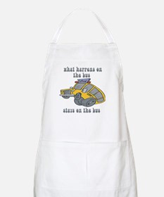What Happens On The Bus Stays On The Bus BBQ Apron