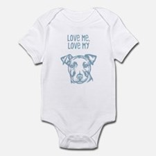 Irish Staffordshire Bull Terr Infant Bodysuit