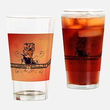 Skadeboarder Drinking Glass