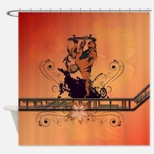 Skadeboarder Shower Curtain