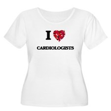 I love Cardiologists Plus Size T-Shirt