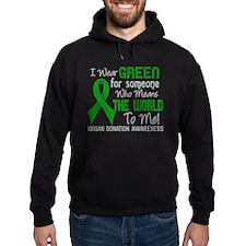 Organ Donation MeansWorldToMe2 Hoodie