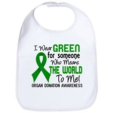 Organ Donation MeansWorldToMe2 Bib