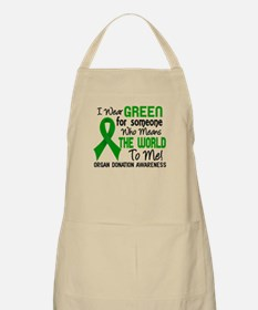 Organ Donation MeansWorldToMe2 Apron