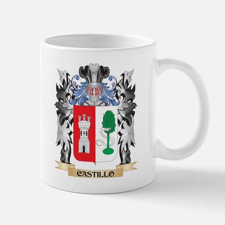 Castillo Coat of Arms - Family Crest Mugs