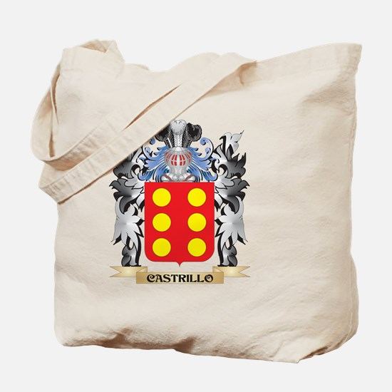Castrillo Coat of Arms - Family Crest Tote Bag
