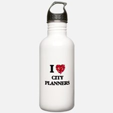 I love City Planners Water Bottle
