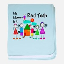 Radiology Tech Kid baby blanket