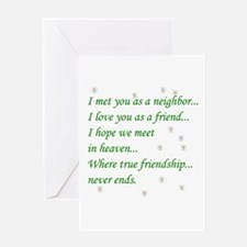 Friend Inspirational Greeting Card