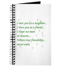 Friend Inspirational Journal