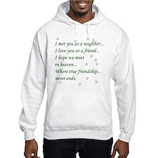Friend Inspirational Jumper Hoody