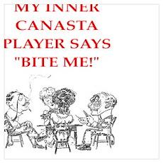 canasta joke Poster
