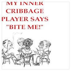 cribbage joke Poster